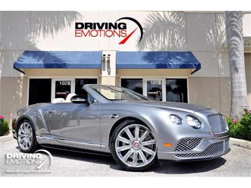 2016 Bentley Continental GT V8 S for sale in West Palm Beach, FL