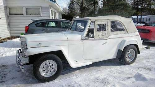 1950 Willys Jeepster for sale in bay city, MI