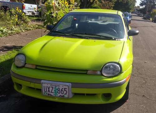 1995 Plymouth Neon for sale in Corvallis, OR