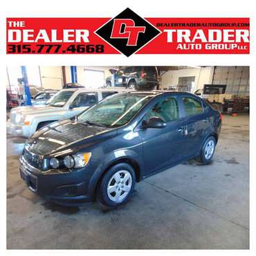 2014 CHEVY SONIC LS 80K MILES for sale in Watertown, NY
