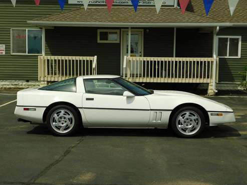 1984 CORVETTE COUPE 350 AUTO LOADED ONLY 81,000 MILES SHARP $5,995 for sale in Rush City, MN