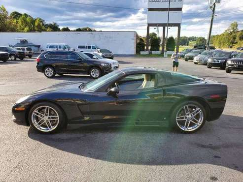2006 CHEVROLET CORVETTE --2 DR COUPE--114K MILES--BLACK - cars &... for sale in Lenoir, NC