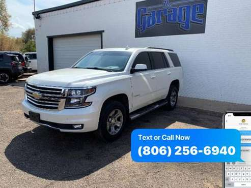 2015 Chevrolet Chevy Tahoe LT 4x4 4dr SUV -GUARANTEED CREDIT APPROVAL! for sale in Lubbock, TX