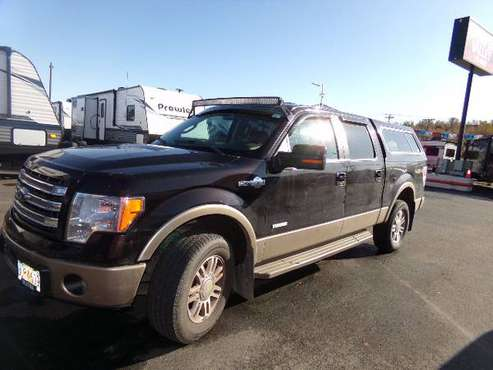 13 F150 SUPERCREW KING RANCH TRUCK for sale in Wasilla, AK