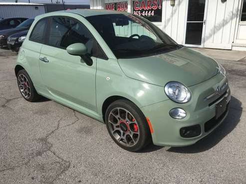 2012 Fiat 500 Sport for sale in Bowling green, OH