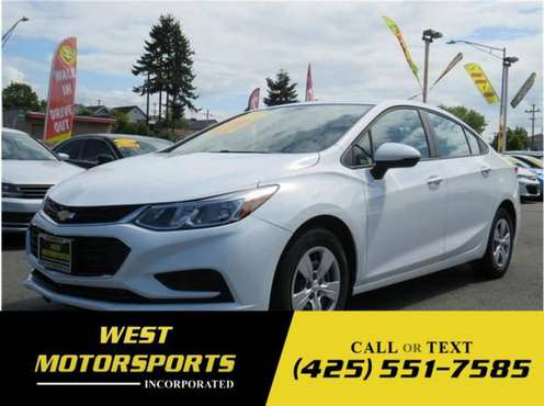 2018 Chevrolet Cruze LS Sedan 4D for sale in Everett, WA