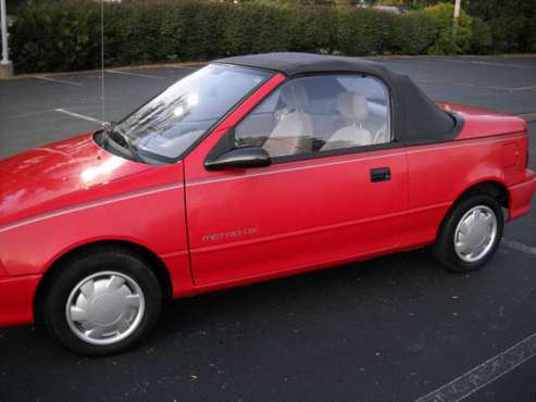 1992 geo metro convertible LSI for sale in Dayton, OH