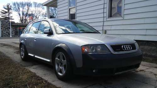 2001 Audi AWD turbo wagon for sale in bay city, MI