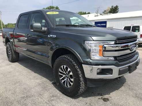2018 Ford F-150 Lariat Crew (D94286) for sale in Newton, IL