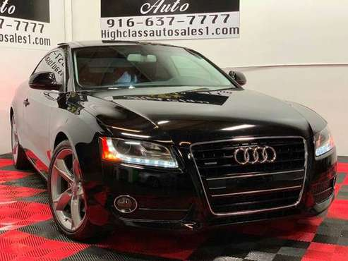 2009 AUDI A5 QUATTRO IN GREAT SHAPE!! for sale in MATHER, CA