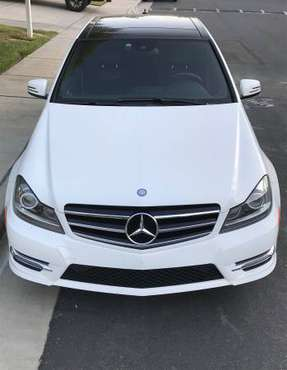 2014 Mercedes Benz C350 C250 C Class AMG Sport Plus Sedan FULLY LOADED for sale in Garden Grove, CA