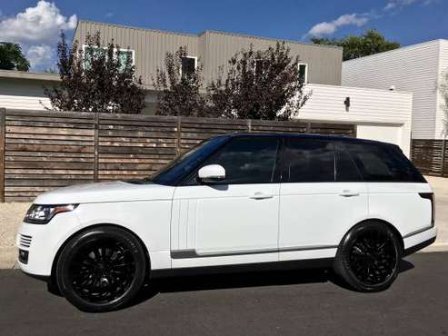 "2017 Range Rover HSE - Full Size - 22"" Autobiography Rims for sale in Austin, TX"