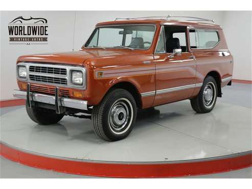 1980 International Harvester Scout II for sale in Denver , CO