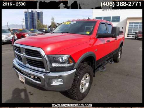 2016 Ram 2500 Power Wagon, 1 OWNER, CLEAN for sale in Belgrade, MT