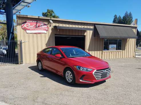 2017 Hyundai Elantra SE*38 MPG!* 43,675 miles* Bad Credit? No Problem! for sale in Modesto, CA
