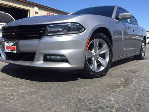2016 DODGE CHARGER SXT~NICE RIDE~GOOD PRICE~LOW MILEAGE!~GET IT!! for sale in Tracy, CA