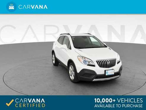 2016 Buick Encore Sport Utility 4D suv White - FINANCE ONLINE for sale in Cary, NC
