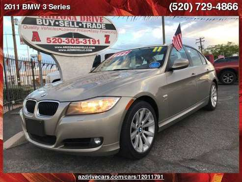 2011 BMW 3 Series 328i xDrive AWD 4dr Sedan SULEV ARIZONA DRIVE FREE... for sale in Tucson, AZ