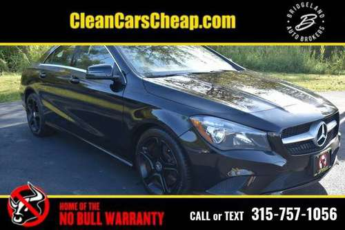 2014 Mercedes-Benz CLA Black for sale in Watertown, NY