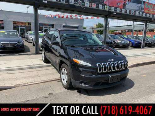 2016 Jeep Cherokee 4WD 4dr Sport Guaranteed Credit Approval! for sale in Brooklyn, NY