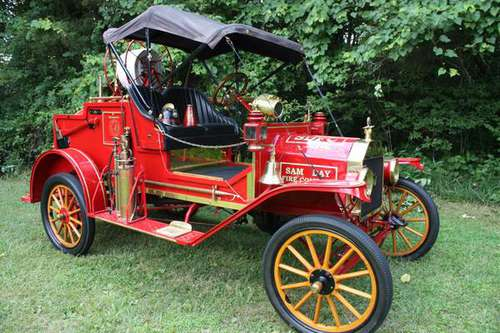 1914 FORD MODEL T FIRE TRUCK - cars & trucks - by owner - vehicle... for sale in Fisherville, KY