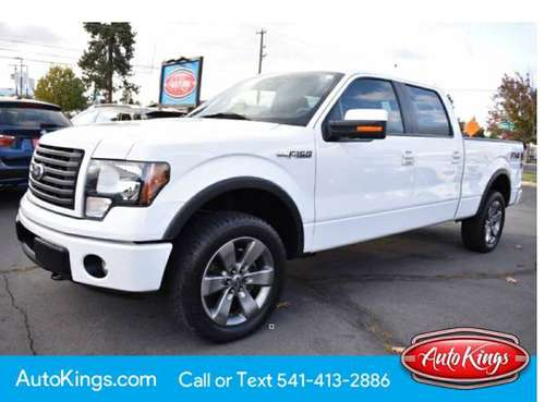 "2012 Ford F-150 4WD SuperCrew 157"" FX4 w/90K for sale in Bend, OR"
