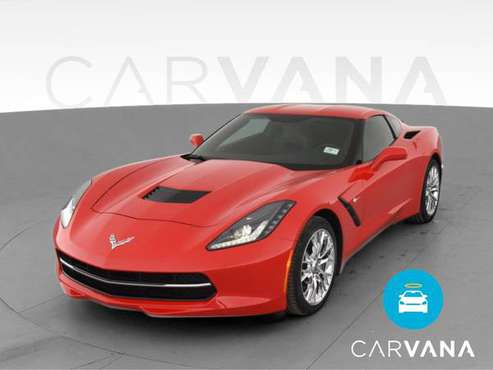 2014 Chevy Chevrolet Corvette Stingray Coupe 2D coupe Red - FINANCE... for sale in West Palm Beach, FL