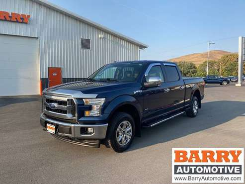 2017 *Ford* *F-150* *XLT* Blue - cars & trucks - by dealer - vehicle... for sale in Wenatchee, WA