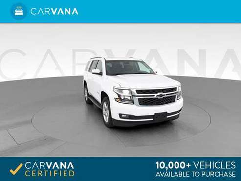 2018 Chevy Chevrolet Tahoe LT Sport Utility 4D suv White - FINANCE -... for sale in Providence, RI