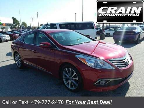 2016 Hyundai Azera Base sedan Venetian Red Pearl for sale in Springdale, AR