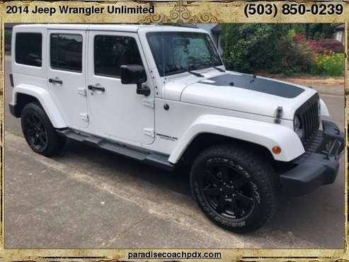 2014 Jeep Wrangler Unlimited 4WD 4dr Altitude for sale in Newberg, OR