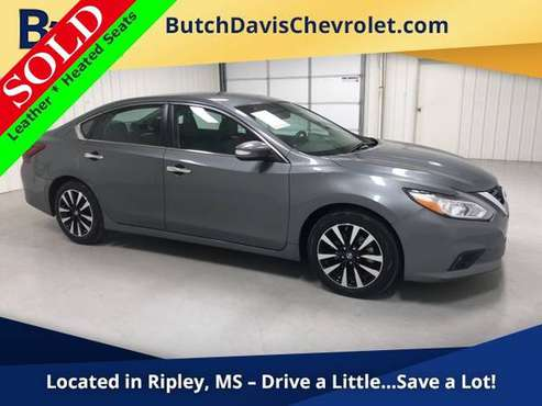 2018 Nissan Altima 2.5 SL Fuel Efficient 4D Sedan w Leather 18 for sale in Ripley, MS