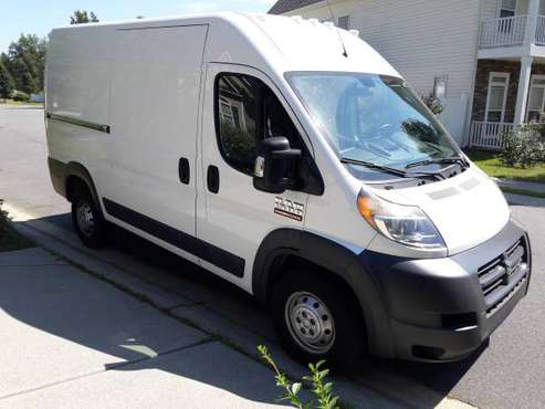 "2017 RAM ProMaster 1500 Cargo Van, 136"" High roof White for sale in Indian Trail, NC"