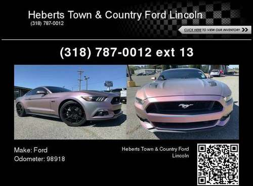2015 Ford Mustang GT Premium for sale in Minden, LA