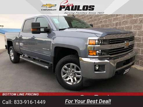 2016 Chevy Chevrolet Silverado 2500HD LT pickup Blue for sale in Jerome, ID