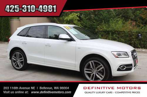 2017 Audi SQ5 3.0T quattro Premium Plus * AVAILABLE IN STOCK! * SALE! for sale in Bellevue, WA
