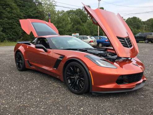 Daytona Sunrise 2015 Corvette Z06 M7 for sale in Williamstown NJ 08094, NJ