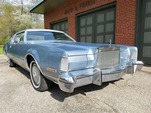 1973 Lincoln Continental Mark IV for sale in Washington, MI