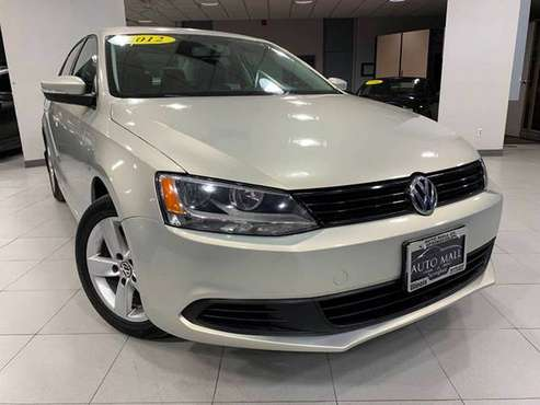 2012 VOLKSWAGEN JETTA TDI for sale in Springfield, IL