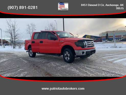 2011 / Ford / F150 SuperCrew Cab / 4WD - PATRIOT AUTO BROKERS - cars... for sale in Anchorage, AK