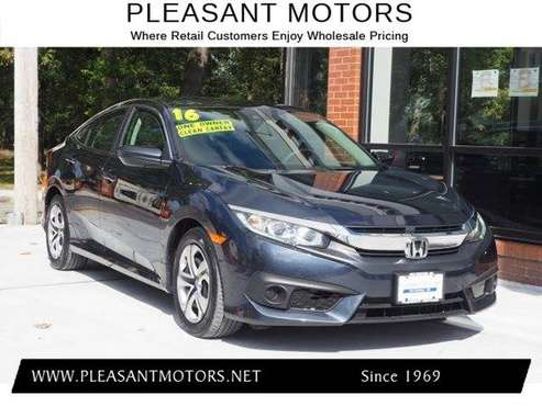 2016 Honda Civic LX // FINANCING AVAILABLE!! for sale in New Bedford Ma, MA