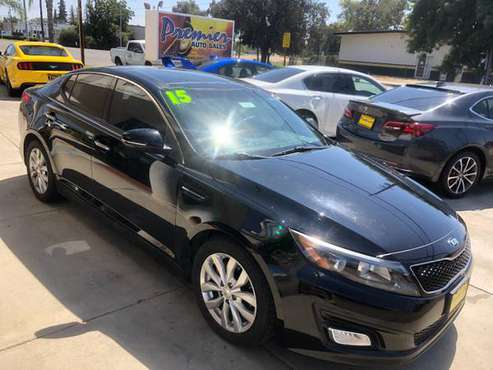 15 Kia Optima EX, 4 Cyl, FWD, Auto, One Owner, Leather, Sunroof for sale in Visalia, CA