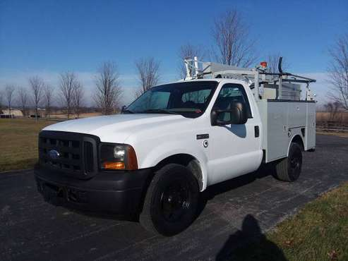 37k Miles 2006 Ford F350 XL Super Duty Utility Service Work Truck -... for sale in Gilberts, NM