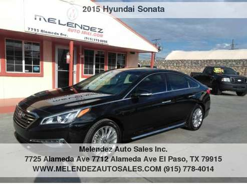 2015 Hyundai Sonata 4dr Sdn 2.4L Limited for sale in El Paso, TX