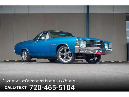 1971 Chevrolet El Camino for sale in Englewood, CO
