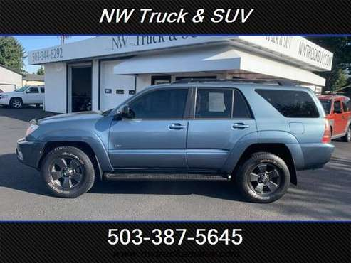 2005 TOYOTA 4RUNNER 4.0L V6 SR5 SPORTS EDITION SPORTS UTILITY 4 DOOR for sale in Milwaukee, OR