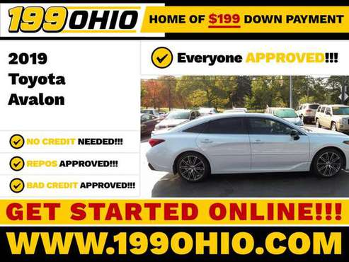2019 Toyota Avalon Camry - Low Down Payment - Buy Here Pay Here -... for sale in EUCLID, OH