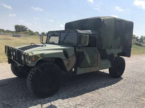 1992 AM General M998 Humvee ~ Camo 2 Door for sale in Tulsa, OK