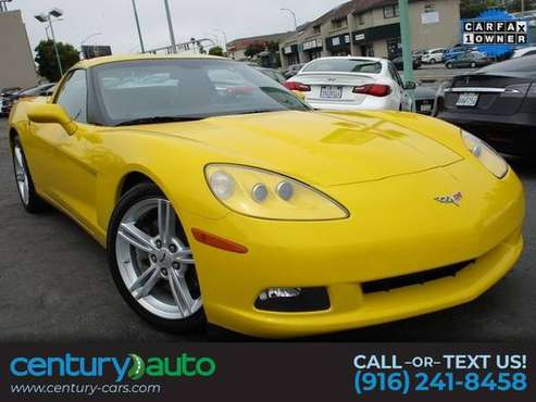 2008 Chevrolet Corvette 3LT - cars & trucks - by dealer - vehicle... for sale in Daly City, CA
