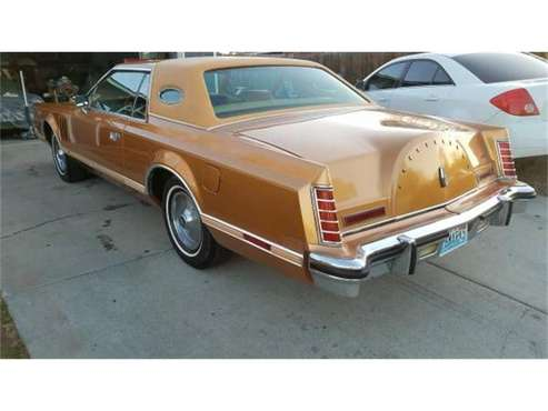 1978 Lincoln Continental for sale in Cadillac, MI